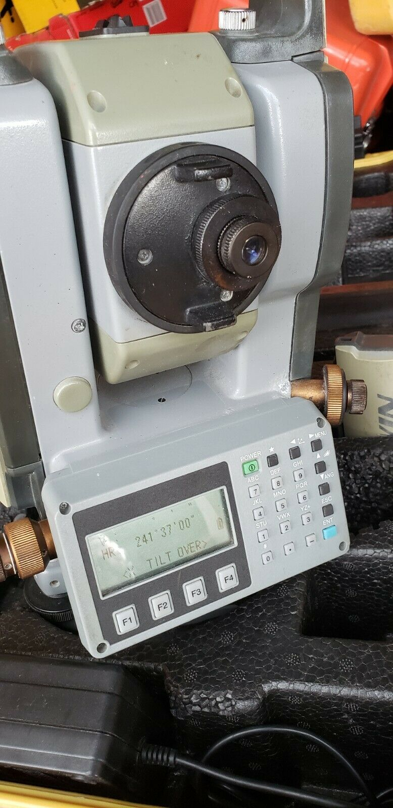 Used Gowin TKS-202  reflectorless total station