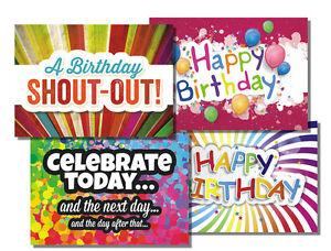celebrate teen niv box of  assorted birthday cards  ebay, Birthday card