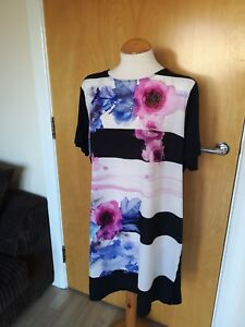 Ladies-TU-Dress-Size-18-Black-Blue-Pink-Tunic-Smart-Party-Day