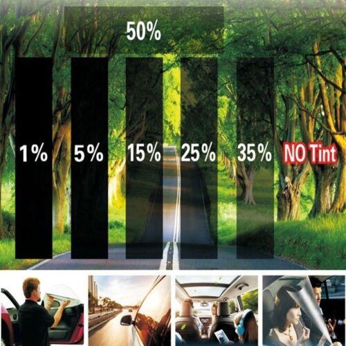 "2PLY 20/"" X 10FT 35/% VLT Black Gray Car Glass Window TINT Film Vinyl Roll EA7Z"