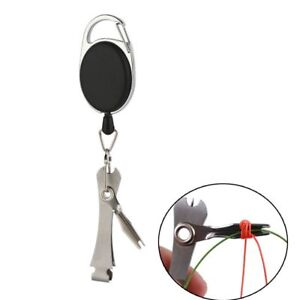 Fast Hook Nail Knotter Quick Knot Tying Tool Line Cutter Fly Fishing Clippers