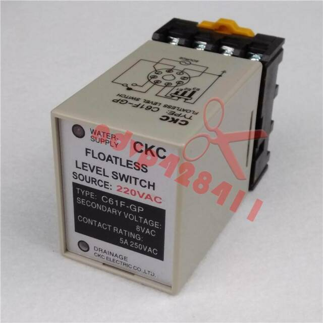 CKC Liquid Floatless Level Switch Controller C61f-gp 220vac