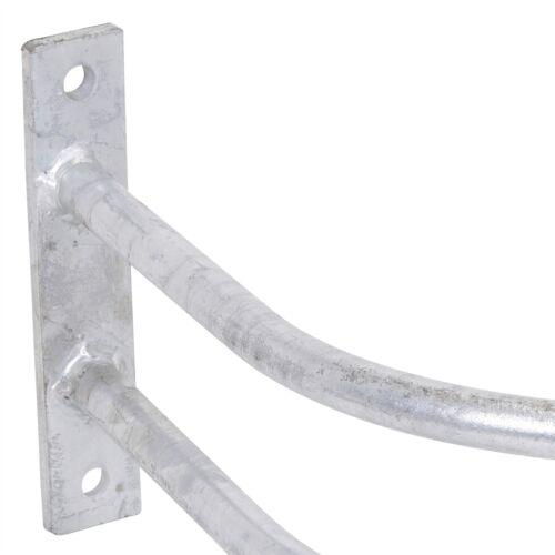 Schutzbügel Tränkebecken verzinkt Tränkeschutz Metallbügel Vieh Tränke Schutz
