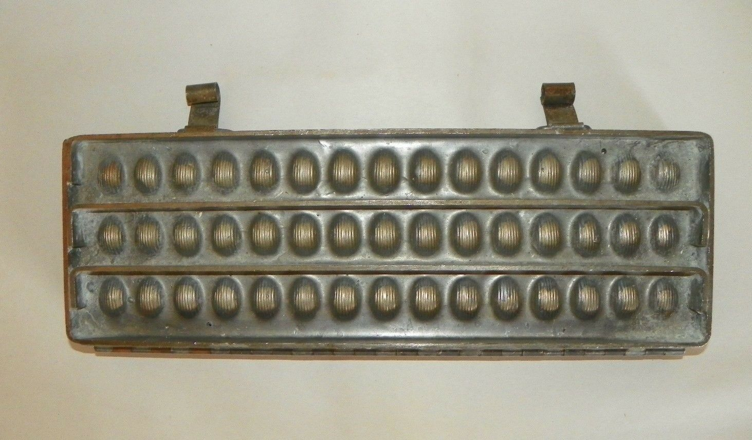 Vintage Egg Shaped Metal Chocolate Molds Set of 4 #1