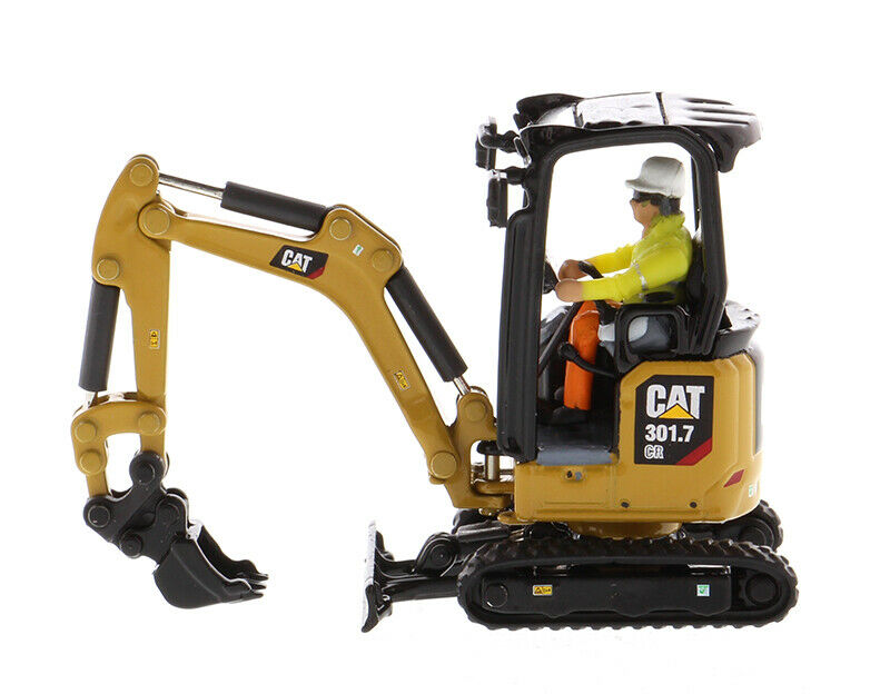 a precios asequibles Gato Diecast Masters 85597 1 50 coche Caterpillar 301.7 CR CR CR Mini Excavadora Hidráulica  80% de descuento