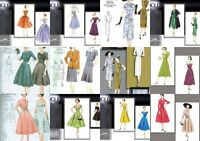 Retro 40s 50s Vogue Vintage Model Original Sewing Pattern Misses Size You Pick