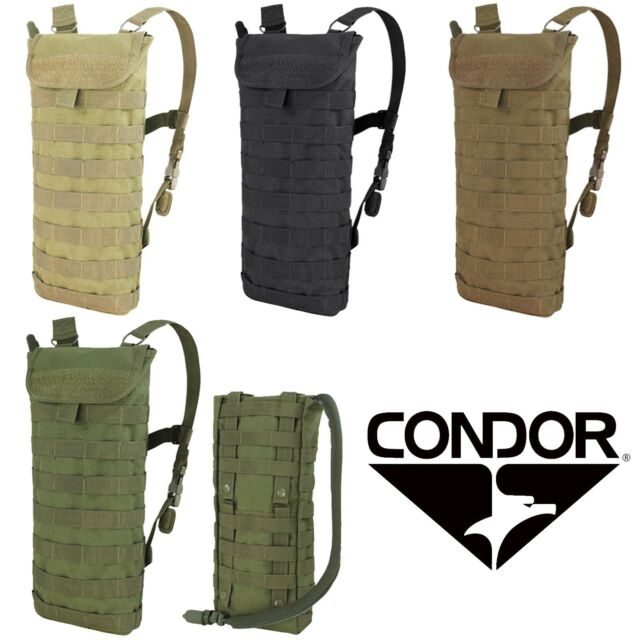 Condor 124 Tactical MOLLE PALS Modular Hydration Backpack Pack w// 2.5L Bladder