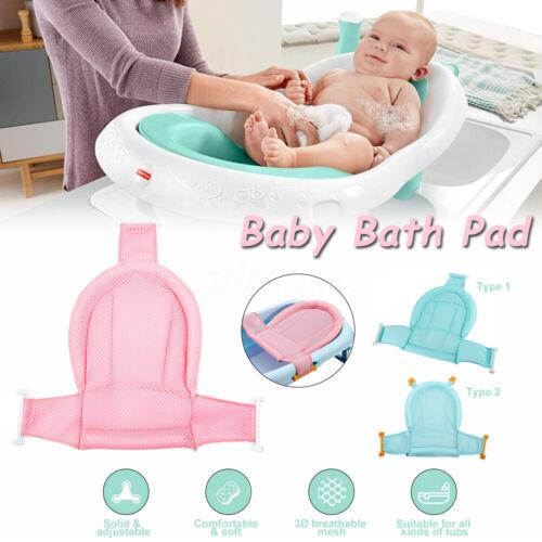 Infant Baby Cozy Bath Pad Non-Slip Bathtub Mat NewBorn Safety Support Bath Seat