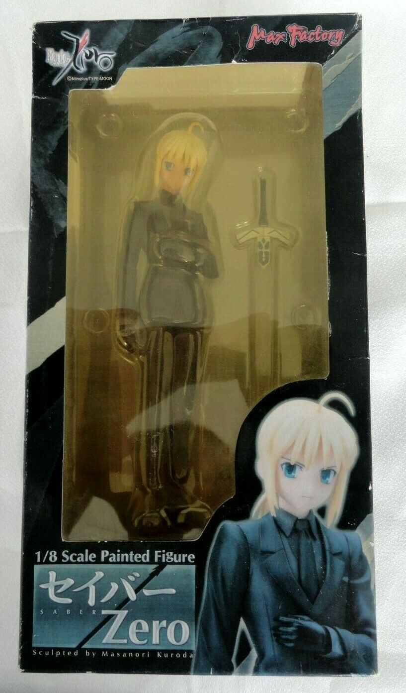 Fate Zero novela Saber zero 1 8 PVC Figura Max Factory Japón Nuevo En Caja