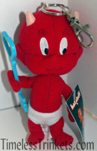 Hot-Stuff-Plush-Keychain-with-Sky-Blue-Key-Stuffed-Animal-Toy-Key-Chain