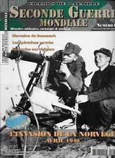 CHAMPS DE BATAILLE SECONDE GUERRE MONDIALE N° 7 / L'INVASION DE LA NORVEGE 1940
