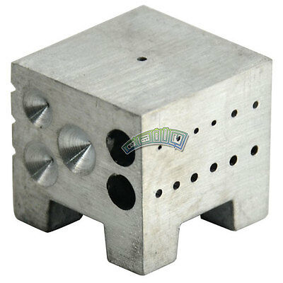 Dapping Doming Block Jeweller Watch Metal Tool Forming Watchmaker Hole Line Dome