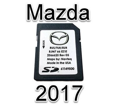 2017 2018 MAZDA Connect SkyActive SD Card 2 3 6 CX3 CX5 MX5 EUROPE RUS TUR