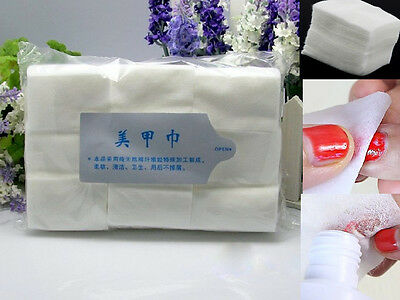 CEA 900Pcs Nail Art Wipes Lint Cleaner Paper Pad Acrylic Gel Polish Tips Remover