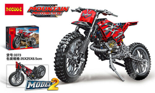 Decool 3373 Model 2-Mountain Motorcycle 2 en 1