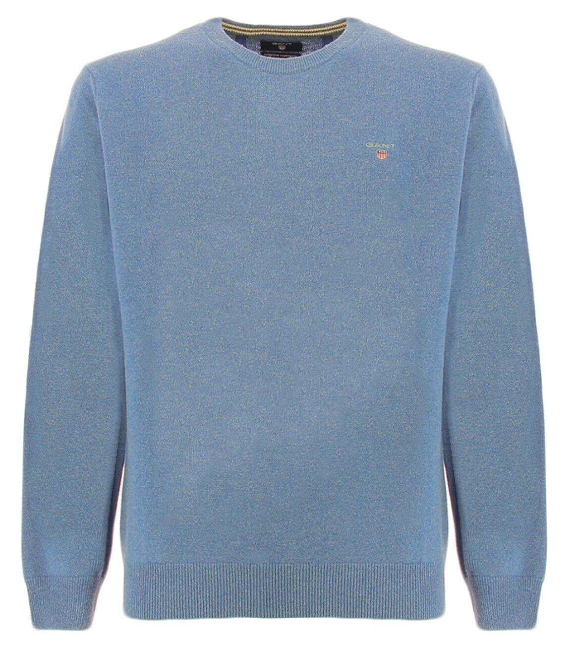 Gant CREW SUPER FINE489 Gant sugar paper sweater in lambswool Super Fine Lambswo