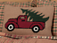 HOOKED-TRUCK-Pillow-Farmhouse-Red-Pickup-Christmas-Tree-Holiday-VHC-Brands thumbnail 1