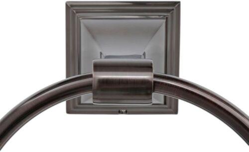 ARISTA Leonard Collection 4Pc Bathroom Accessory Kit Oil-Rubbed Bronze Holder