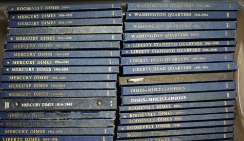 #9421 Whitman Used Empty Coin Album-Liberty Head Half Dollar 1907-1915