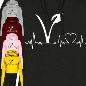 Vegan-Femmes-Crop-Sweat-a-capuche-Vegetarien-Tumblr-Heart-Hipster-Blague-Top-Tee-Sweat