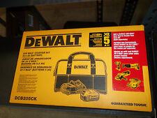 Dewalt DCB205 CK 20V Max Starter Kit (5 Ah Battery, Charger & Contractor Bag
