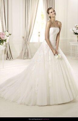 Brautkleid Hochzeitskleid Pronovias Wedding Dress Gr 36/38 S/m Ivory Kleidung & Accessoires Brautkleider