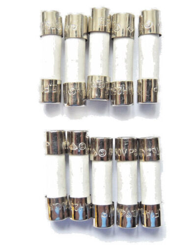 Fuse 1a  20mm HBC Ceramic F1A H 250v Quick blow Fast Littelfuse x10pcs