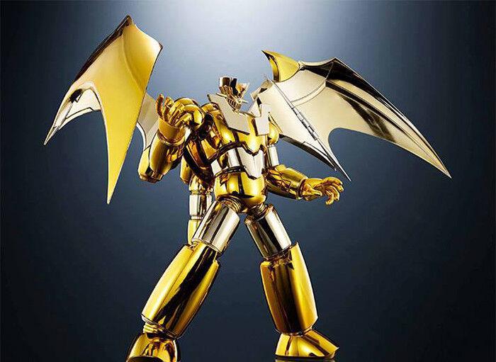 Shin Mazinger Z gold Ver. SRC Super Robot Chogokin Tamashii Nations World Tour