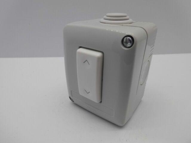 gewiss gds up down roller shutter garage door switch 10 amp 240 volt rh ebay co uk