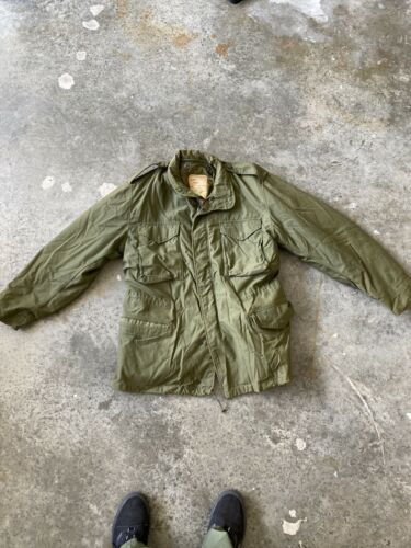 Vintage US Army Jacket With Liner