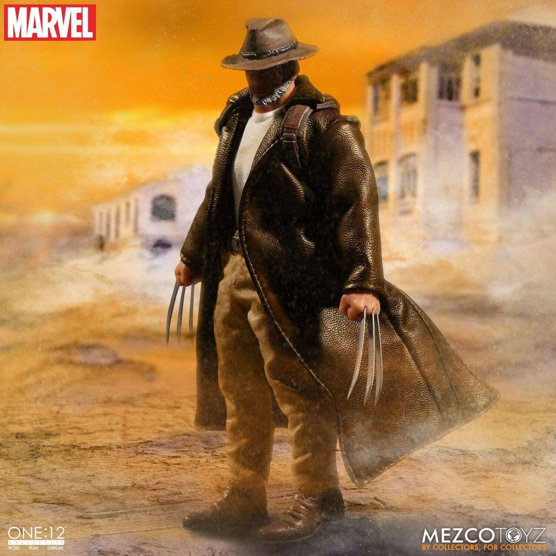 Marvel universe old homme logan figure 1 12 mezco  toys  prix bas 40%