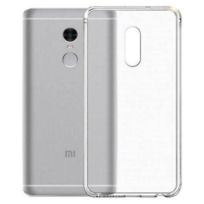 Soft TPU Back Cover Case For Xiaomi Redmi Note 4 Indian - Transparent