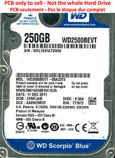 PCB 2060-771672-004 - Western Digital WD2500BEVT - WD2500BEVT-00A23T0 - 250Go