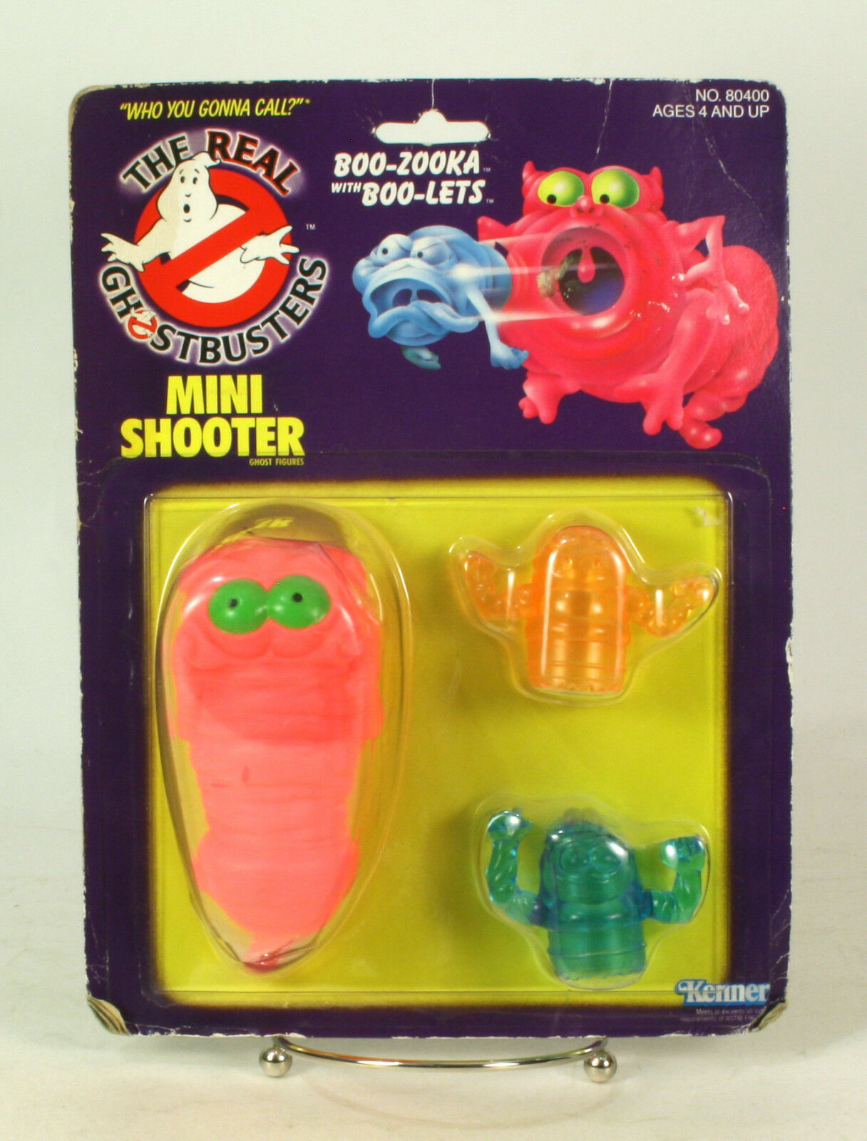 The real ghostbusters - shooter buh zooka mit buh - moc 1986 kenner