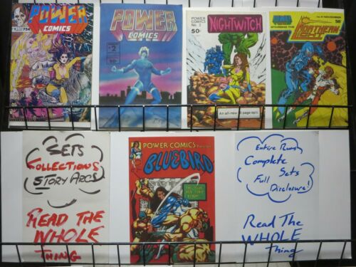 1st 2-5 EARLY CANADIAN ANTHOLOGY POWER COMICS 1977 1