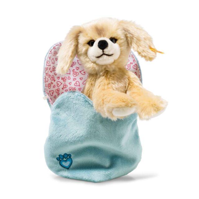 Steiff 077043 Kelly Hund im Herzbeutel 22 cm