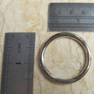 Lot-of-25-1-2-034-Inch-O-Rings-for-Dee-webbing-Belts-OOOO