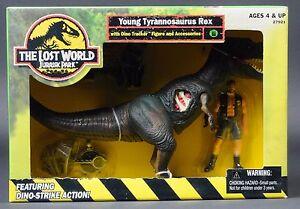 1997 Jurassic Park Le Monde Perdu Jeune Tyrannosaure Rex T-Rex Toys R Us Misb 76281279213