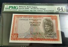 MALAYSIA 2nd  RM10 Broken Thread PMG64epq