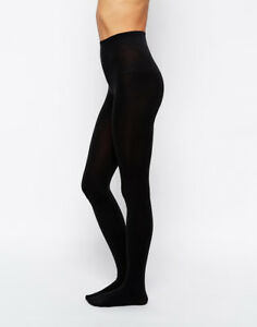 6b58c8df962d7 200 DENIER TIGHTS PLUS SIZE 8 10 12 14 16 18 20 Thermal Tights Black ...