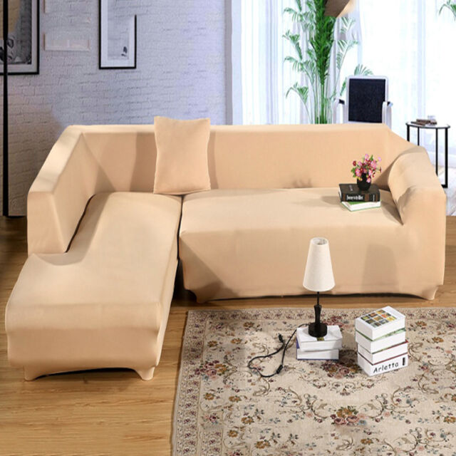 L Shaped Sofa Couch Slipcover Cover