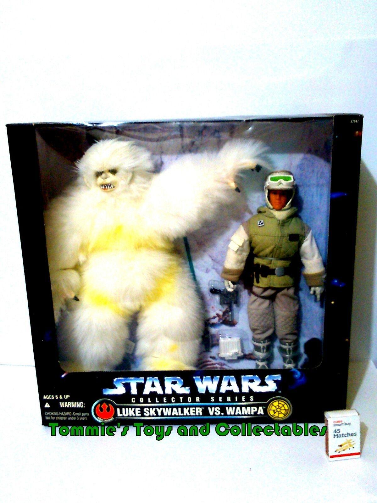 Star Wars Collector Series Luke Skywalker vs Wampa Kenner 1997 MIB