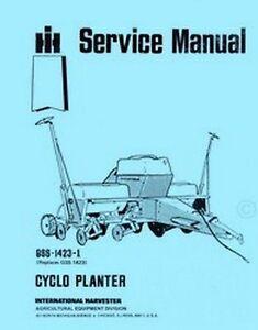 Ih 800 cyclo Planter Manual Ih Planter Wiring Harness on
