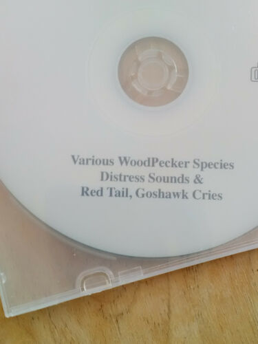 Scare Away problem Woodpeckers! BirdBusters Woodpecker Distress cd