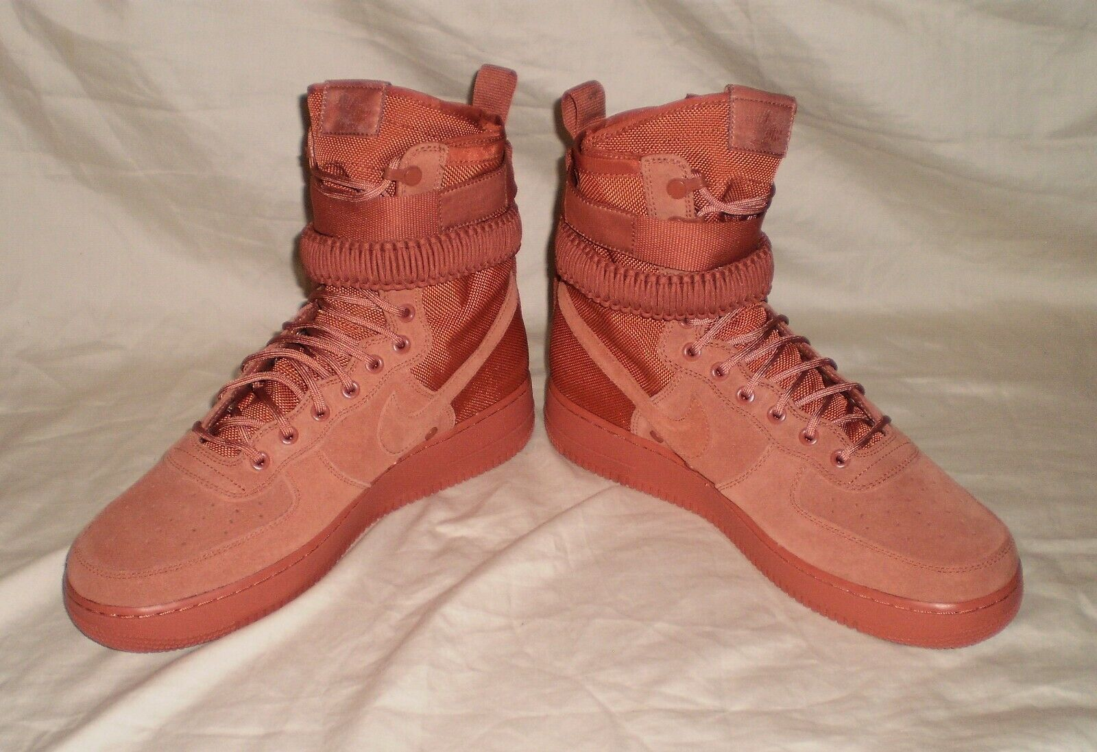 MENS NIKE SF AF1 AIR FORCE 1 DUSTY PEACH SNEAKERBOOTS SIZE 11.5
