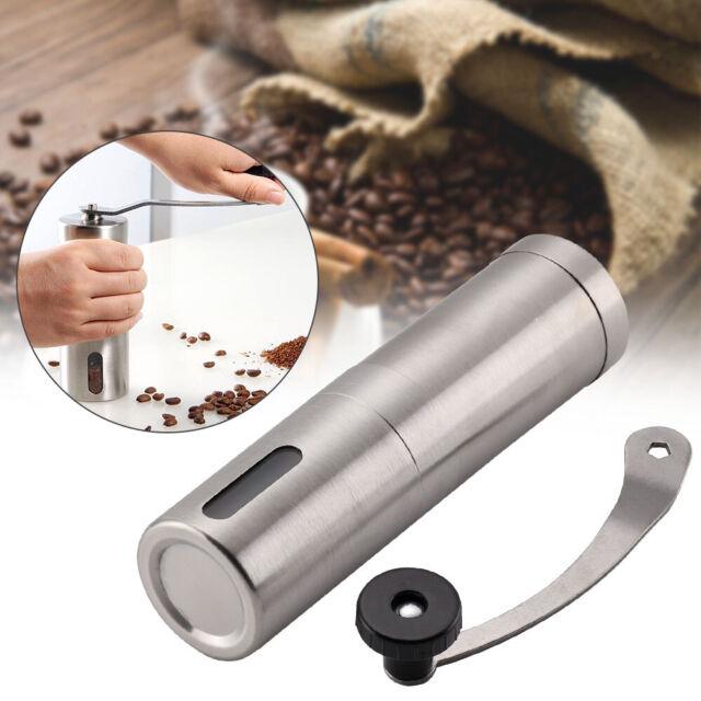 Manual Coffee Bean Grinder Stainless Steel Hand Held Mill Uk