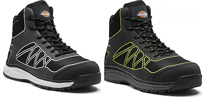 Dickies Phoenix Safety Boot Black And Grey - Various Sizes PüNktliches Timing