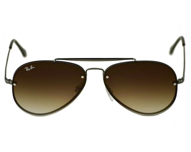 f4dc1d68f9 Ray-Ban RB3584N Blaze Aviator 004 13 Gunmetal Frame Brown Gradient Lenses  Unisex
