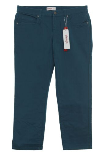 Sheego Capri Pantaloni Jeans Donna Stretch Estate Pantaloni PLUS Dimensione