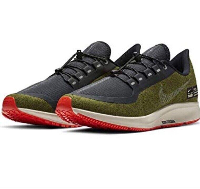 Nike Zoom Winflo 5 Shield Running Mens Olive AO1572 300 Run